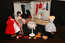Vintage Barbie Bubble Cut – doll, clothes, Ponytail case, accessories Early 60's