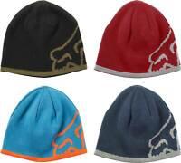 Fox Racing Streamliner Beanie - Reversible Knit Warm Winter Ski Cap Hat MX MTB