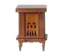 Dollhouse Miniature Radio Floor Model Vintage Style Wood Minis 1:12