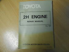 Workshop shop service repair manual Toyota ENGINE Land Cruiser 08.1980 / 36048
