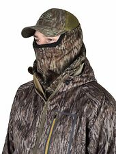 Mossy Oak Bottomland Camo Hunting Face Mask 3/4 Face - Mesh Ultra Breathable