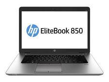"HP EliteBook 850 G1 15.6"" Laptop i5-4210U 1.7GHz 4GB 500GB Black Win 7 Pro"