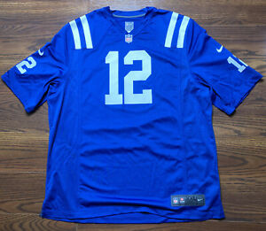Andrew Luck #12 Indianapolis Colts Nike Onfield Men's Jersey Size XXL