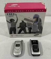 Samsung SGH E105 (T-Mobile) Cellular Phone & Nokia 6101b Flip Phones -UNTESTED