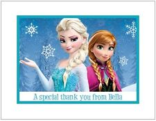 Frozen #6 ~ Personalized Note/Thank You Cards