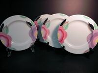 "Adams China Micratex Florida 8 1/4"" Salad Plates (set of 4)  .."