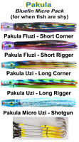 Pakula Bluefin Micro Lure Pack. Rigged. includes lure bag