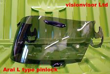 Aftermarket Pinlock Arai L Type SAL Visiere Légère Fumée Quantum Viper GT Astro