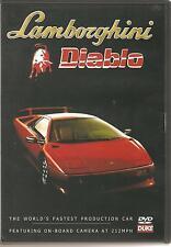 LAMBORGHINI DIABLO DVD WORLDS FASTEST PRODUCTION CAR