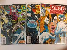 Spiderman Comic Lot Spiderwoman 1993 1 2 3 4  NM Bagged Boarded