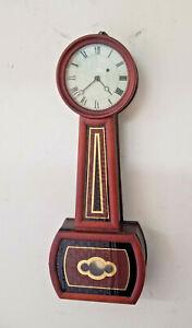 1860 Wonderfully Restored Howard Style Americn Weight Banjo Clock