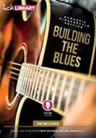 LICK LIBRARY Learn To Play ACOUSTIC FINGERSTYLE BUILDING THE BLUES Guitar DVD