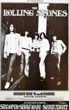 Rolling Stones Concert Poster Randy Tuten Signed Oakland 1969
