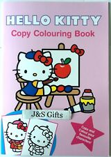 Hello Kitty Copy Colouring Book Copy And Colour Your Favourite Characters-Pink