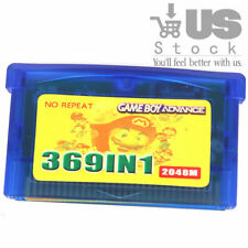 369 in1 GBA Games for Nintendo GBA SP NDS GameBoy Multicart Cartridge Pokemon US