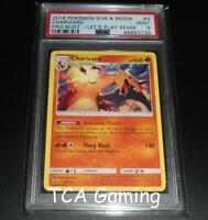 PSA 9 MINT Charizard 3/70 SM PROMO Non-Holo LET'S PLAY EEVEE Pokemon Card