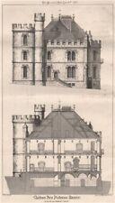 Château Pies d'Odessa (Russie); M. Ruprich-Robert, Architect. Ukraine 1871