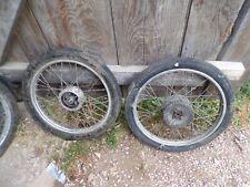 Paire de roues jantes 17 92 93 94 speciale motobecane mobylette 8821