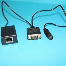 RFIDeas C-6200AKE RS232 (Male) Serial to Ethernet Converter for RS-232 Readers