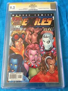 Exiles #1 - Marvel - CGC SS 9.2 - Signed by Mike McKone