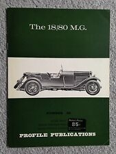 MG 18/80 Profile Publication #86 - VG / Near Mint Condition
