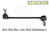 MOOG Front Axle, Left - Anti Roll Bar Link Rod (Stabiliser) - HY-LS-1911