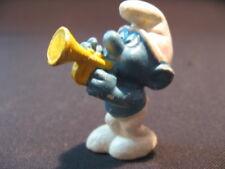 Trompetenschlumpf - Schlumpf mit Trompete von Peyo - sehr alt - ca. 5 cm hoch(3)