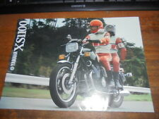 Prospekt Sales Brochure Yamaha XS 1100 Motorrad Moped Bike Mokick