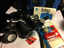 Minolta X-700 35mm SLR Film Camera bundle