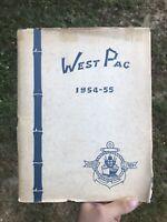 Vintage USS GEORGE CLYMER West Pacific Japan Korean War Navy ship cruise book