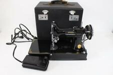 Singer Feather Weight Sewing Machine Lot 22