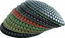 4 inch Bowl Diamond Polishing 8 Pad Stone Marble Granite Convex Grinding Discs
