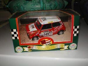 AUSTIN MINI, MINI SPORT RALLY CAR BY CORGI