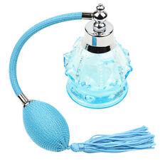 100ml Bouteille de Parfum Vide en Verre Flacon Atomiseur pr Voyage Sac Bleu