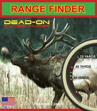 Dead On Range Finder Bow Hunting Training Sporting Goods Fitness S