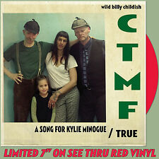 "CTMF - A Song For Kylie Minogue - (limited red vinyl 7"") *BILLY CHILDISH*"