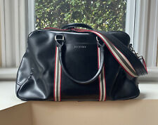 Ben Sherman large classic black weekend bag luggage mod 60s retro vintage style