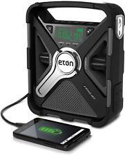 Eton Emergency Weather Bluetooth Radio, Smartphone Charger, Alarm Clock & Led