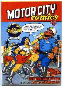 MOTOR CITY COMICS (#1) - 7.0, WP - Comix - Crumb - 1st printing