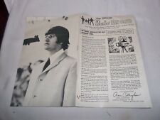THE BEATLES UK FAN CLUB NEWSLETTER No.5  SUMMER 1965 12 PAGE ONLY FOR MEMBERS