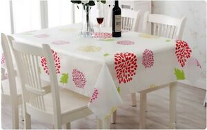 Strip Rectangle Square Plastic TableCloth Oil Waterproof Party Event Table cloth