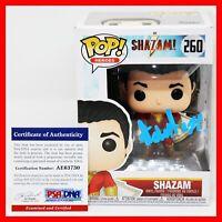 !! RARE Asher Angel Signed Autographed Shazam! Shazam Funko POP PSA JSA BSA !!