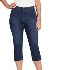 GLORIA Vanderbilt Ladies Rhea Capri Stretch Denim Jeans Blue Size 14 Scottsdale