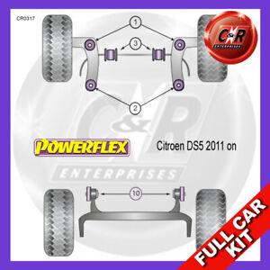 Citroen DS5 (2011-on) Powerflex Complete Bush Kit