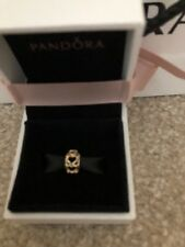 Genuine Authentic Pandora 14ct Gold Openwork Heart Spacer Charm 750813 G585 ALE