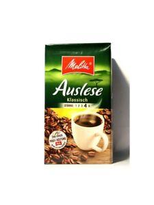 Original Melitta Auslese ground coffee 500gr