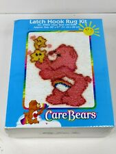 "New ListingCare Bears Latch Hook Rug Kit Cheer Bear With Stars 20"" X 27"" No.39003 New"