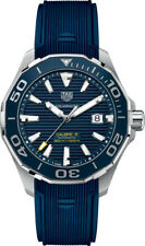 Brand New Tag Heuer Aquaracer Blue Dial Men's Watch WAY201B.FT6150