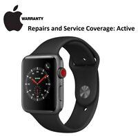 APPLE Watch Series 3 GPS 42 mm Space Grey Warranty Until May 14, 2019
