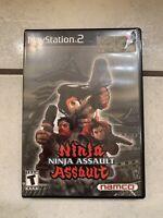 Ninja Assault Playstation 2 PS2 Video Game
